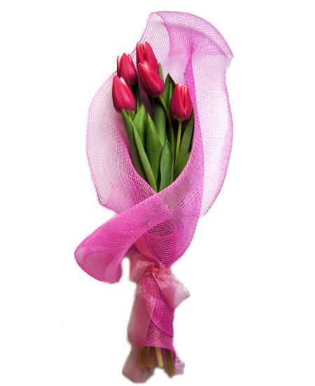 Букет из цветов Карусель