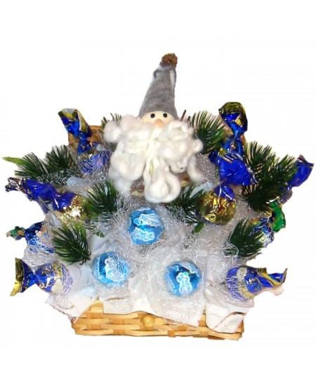 Букет из конфет  Дед лесовик