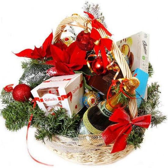 Подарочная корзина Бархат