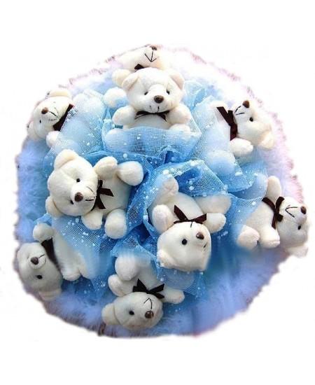 Букет из игрушек Голубой сон