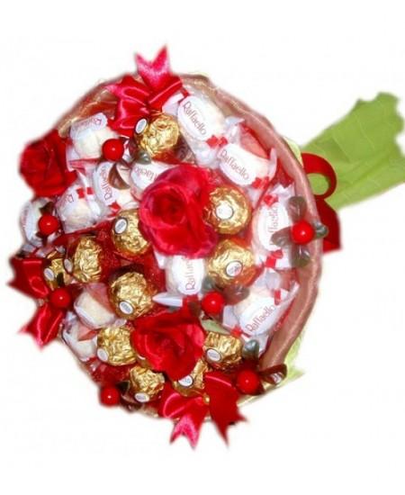 Букет из конфет  Изабелла- Срочная доставка в Москве