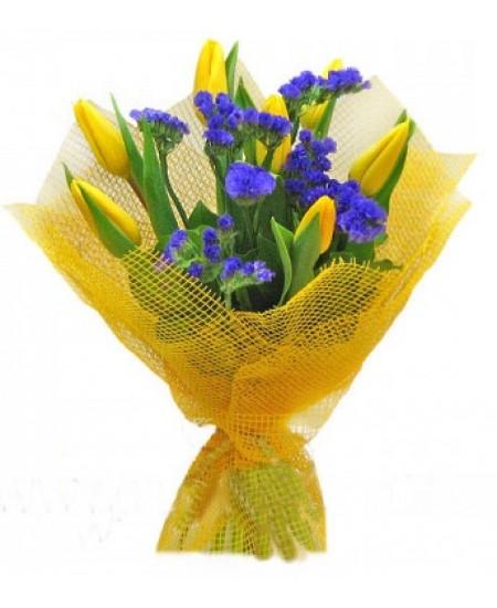 Букет из цветов Контраст