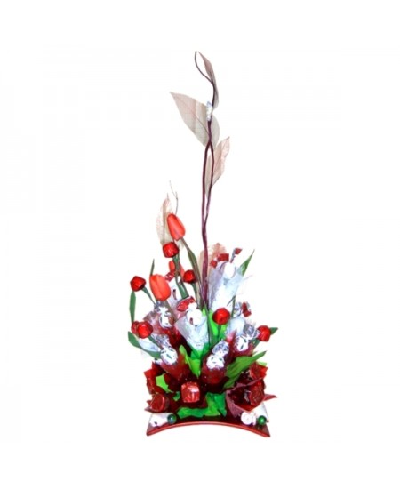 Букет из конфет  Коралловые рифы