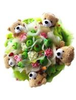 Мишки с яблочками