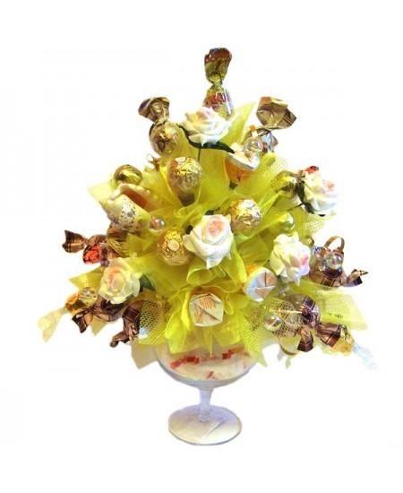 Букет из конфет  Ореховый сон