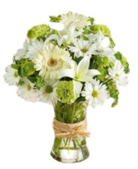 Букет из цветов  Росинка