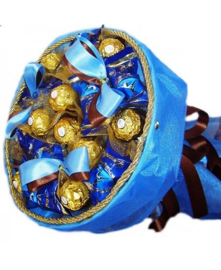Букет из конфет  Сапфир