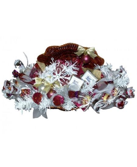 Букет из конфет  Снежные узоры