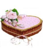 """Торт из конфет """"Влюбленность"""""""