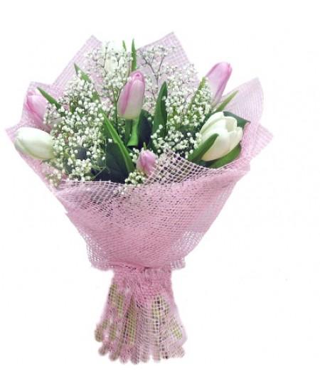 Букет из цветов Жемчуг