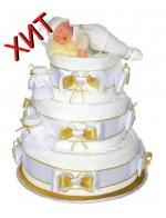 Торт Золотая детка