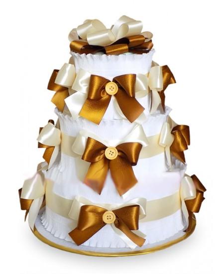 Торт из памперсов - Шоколад  - Супер цена - Срочная доставка в Москве